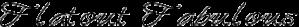 Flatout Fabulous Logo
