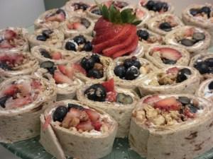 Sweet-N-Crunchy Wrap