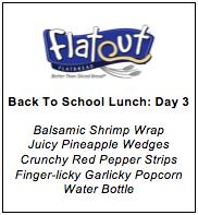 Healthy Lunch Menu Day 3