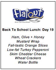 Back to School Menu 19
