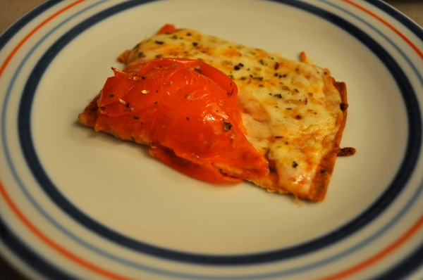 Flatout Pizza Slice