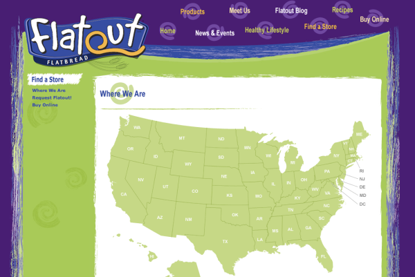 Flatout Store Locator