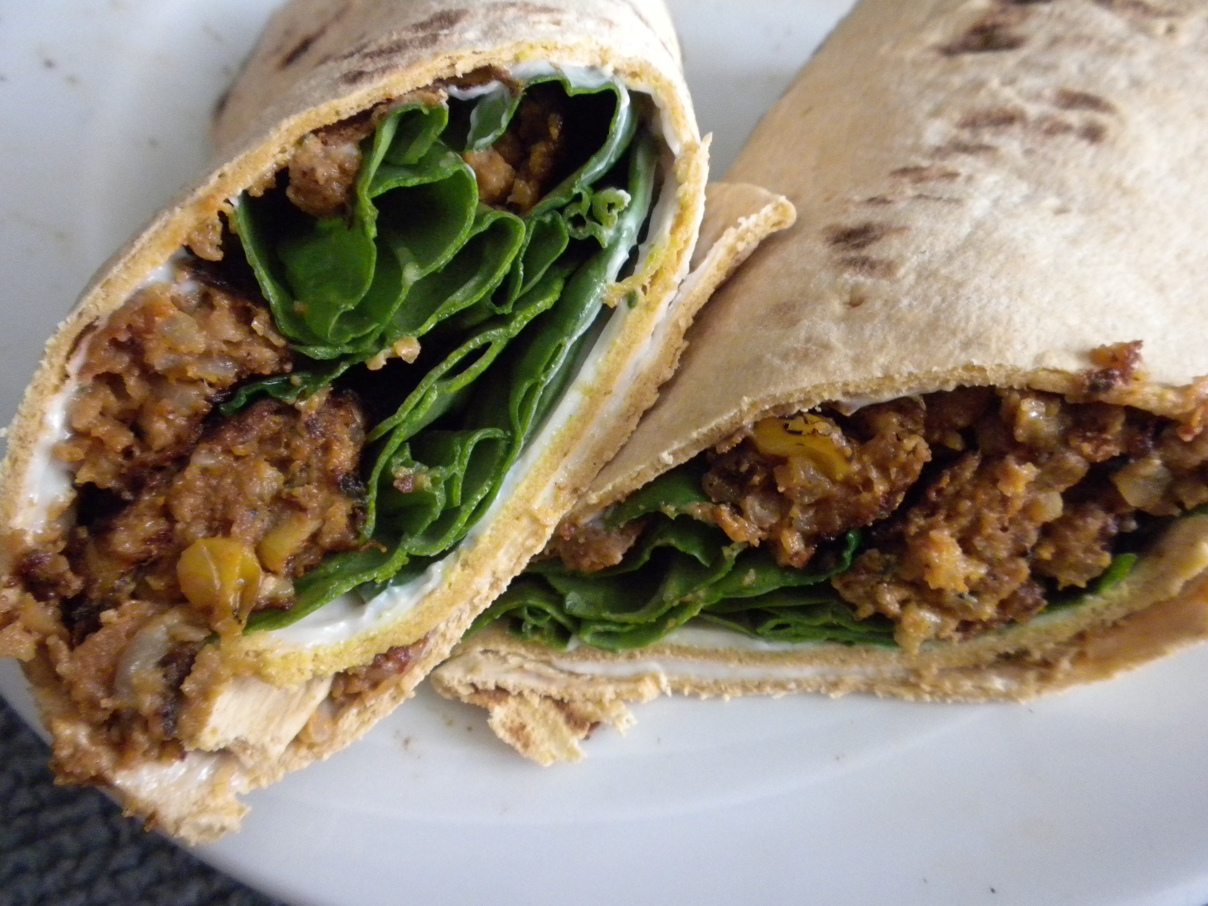black bean wraps black bean egg and avocado the flavors from the black ...